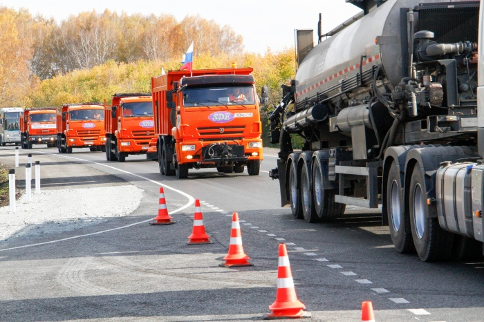 На федеральной трассе открыли участок в обход Кемерово с ремонтом за 558 миллионов (фото)