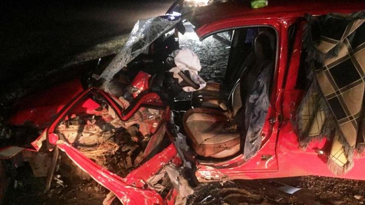 Омичка выжила после лобового столкновения с грузовиком