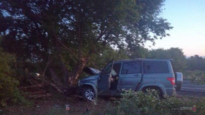 Умер на руках у врачей: пассажир внедорожника погиб после ДТП с деревом в Волгоградской области