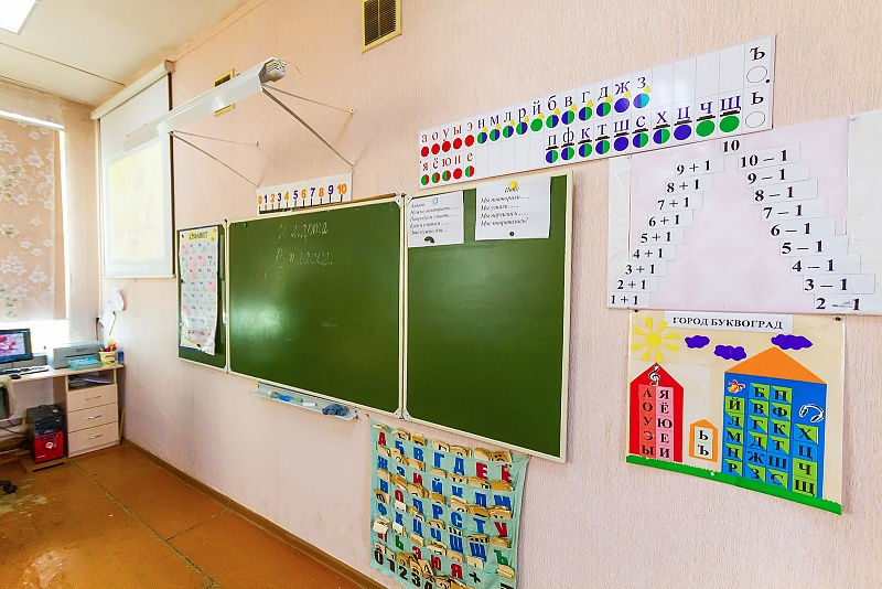 Сегодня дети учились первый день после внеплановых каникул