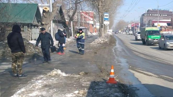 Три аварии с пешеходами за день: одну женщину увезли с серьёзным переломом с улицы Мира