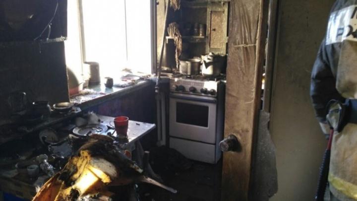 В башкирской однокомнатной квартире сгорела женщина