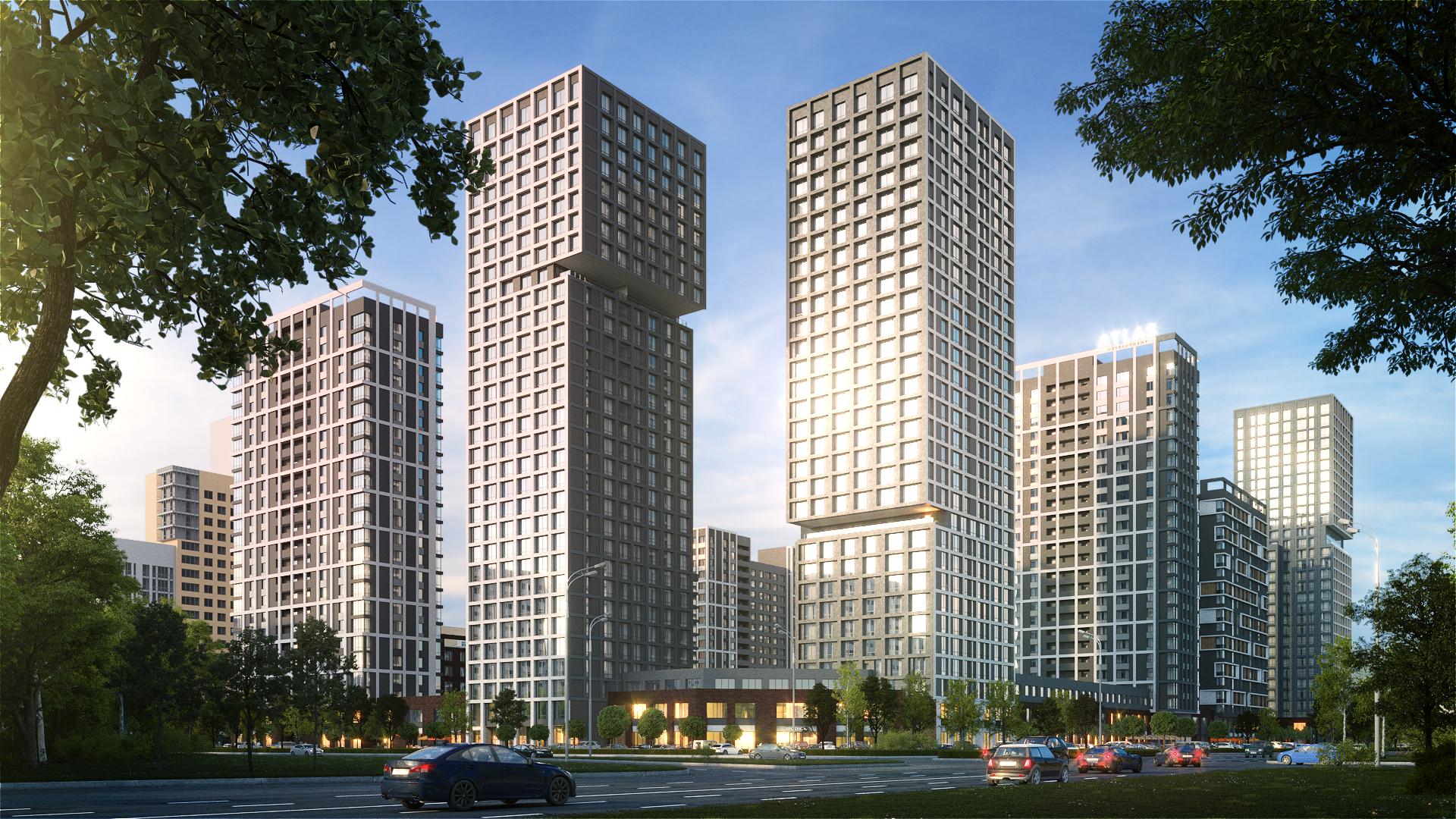 Так будет выглядеть жилой комплекс «Парк Столиц»