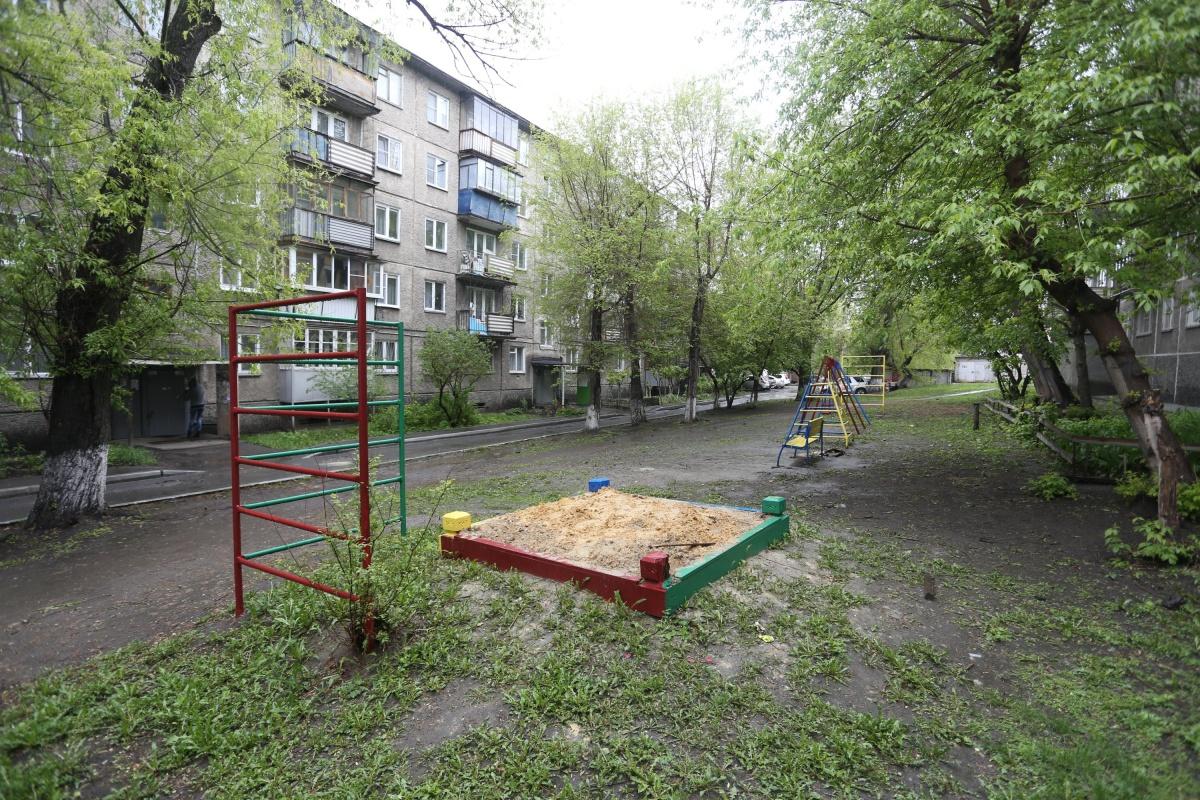В программу благоустройства попал двор по улице Кыштымская, 17а