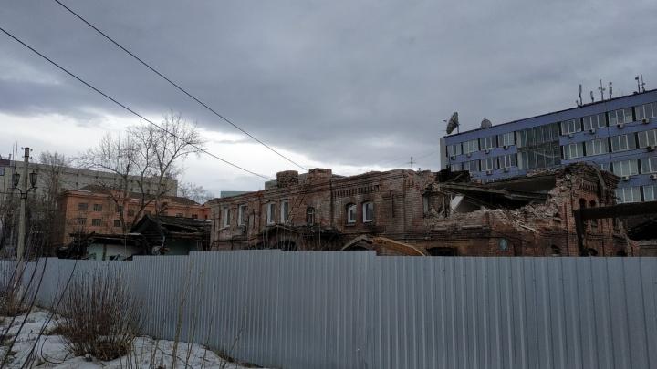 На месте снесенных корпусов больницы на Вейнбаума планируют построить элитный жилой комплекс