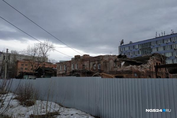 Сносить ветхие здания начали 8 февраля