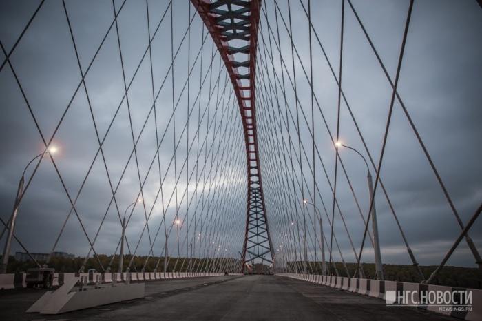 Бугринский мост — один из крупнейших объектов компании