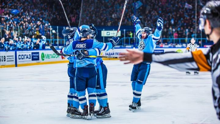 Чистая победа: хоккейная «Сибирь» всухую обыграла СКА
