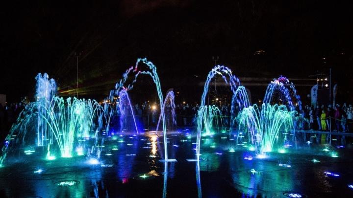 Издалека увидим: новый фонтан в Центральном парке станет светодиодным на зиму