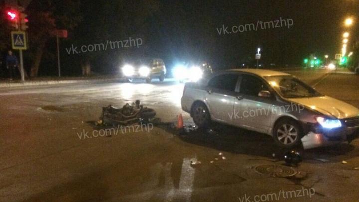 Скончался, не приходя в сознание: в Башкирии погиб мотоциклист
