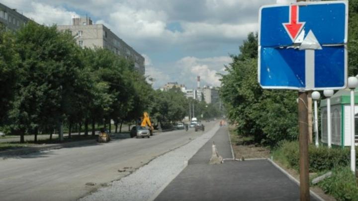 Ремонт улицы Авроры в Уфе перешел в активную фазу