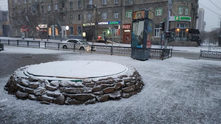 В начале мая в Новосибирске ляжет снег