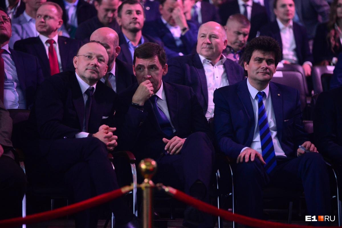 За ней он наблюдал вместе с губернатором и Игорем Алтушкиным