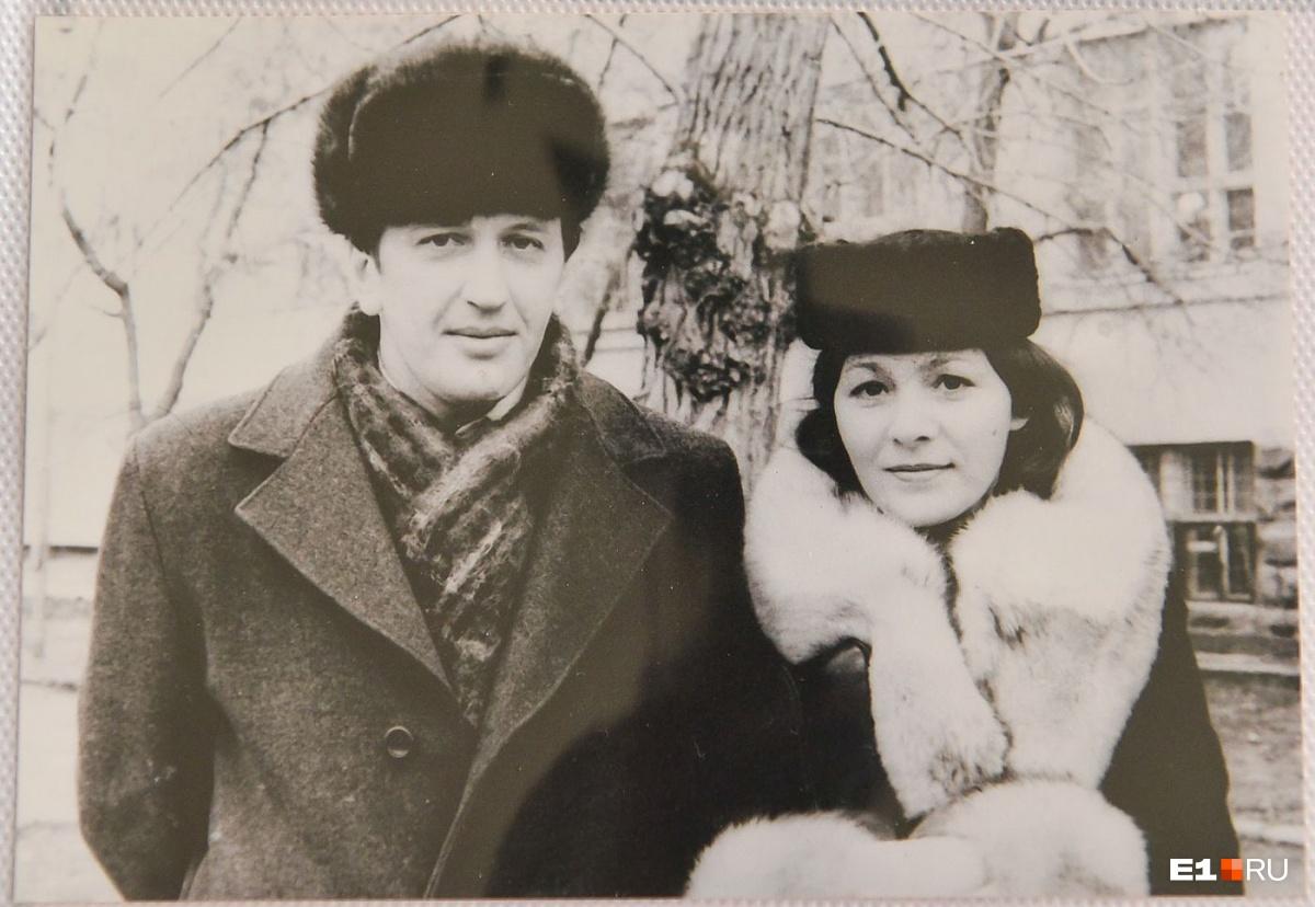 Модница Тамара Зимина и её муж
