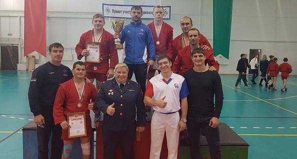 Сотрудники ГУФСИН Свердловской области выиграли на внутреннем чемпионате России по самбо