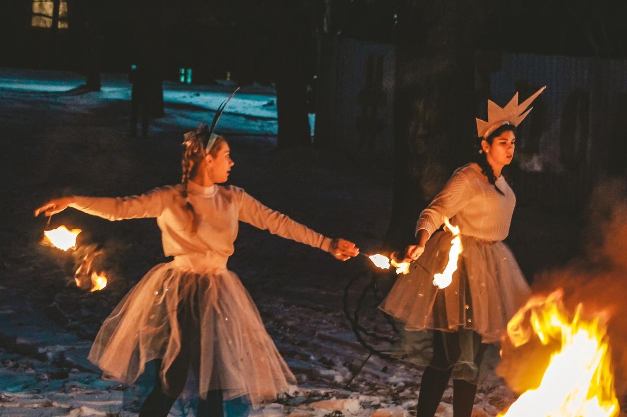 В Центральном парке можно будет посмотреть шоу с огнем