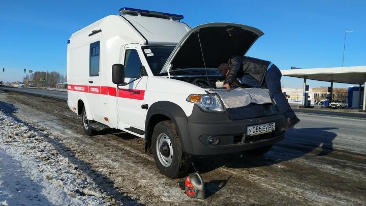 Реанимация на колёсах: тестируем новую карету скорой помощи на базе УАЗа