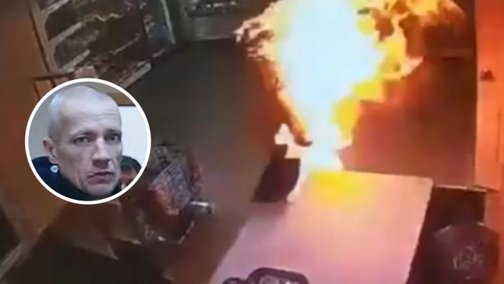В Соликамске арестовали мужчину, который поджег продавщицу в магазине
