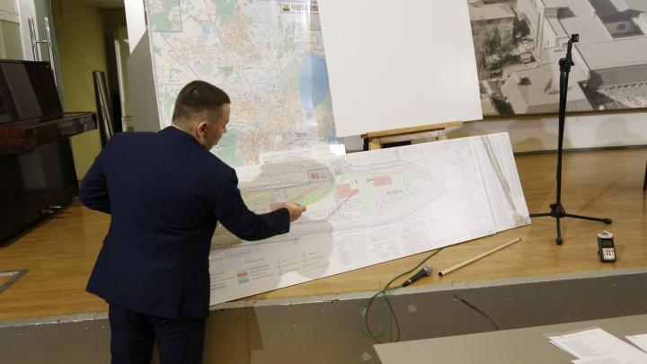 «Вдохнём новую жизнь»: рядом с «Лентой» в Челябинске построят аллею магазинов и спортивный центр