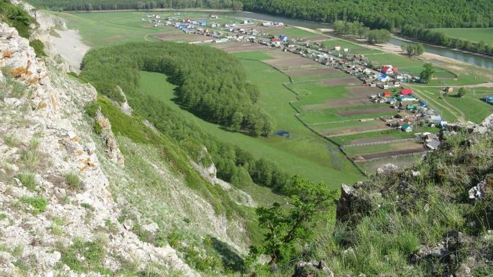В Башкирии подросток сорвался со скалы