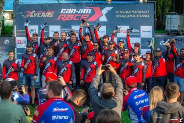 Сергей Карякин иАнтон Власюк стали абсолютными чемпионамивторого этапа внедорожной квадросерии Can-Am X Race — 2019