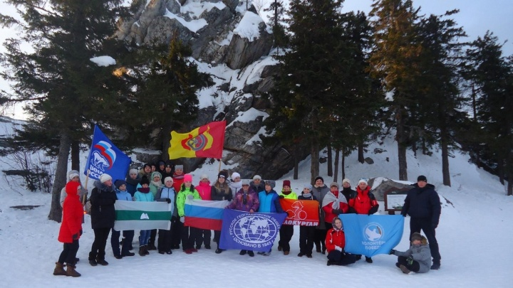«Покорим вершины вместе»: «Велокурган» знакомит зауральцев с достопримечательностями Урала