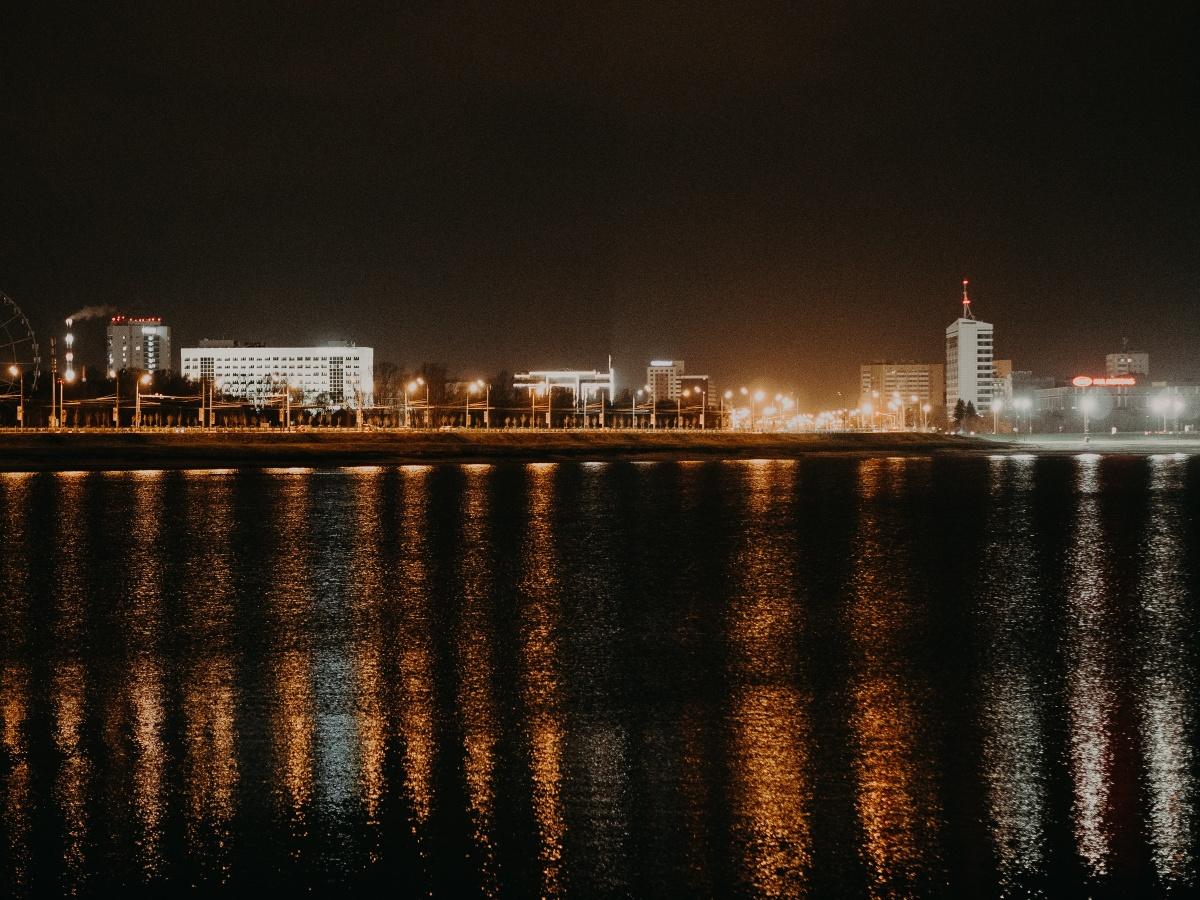 Как вам ночная Казань?