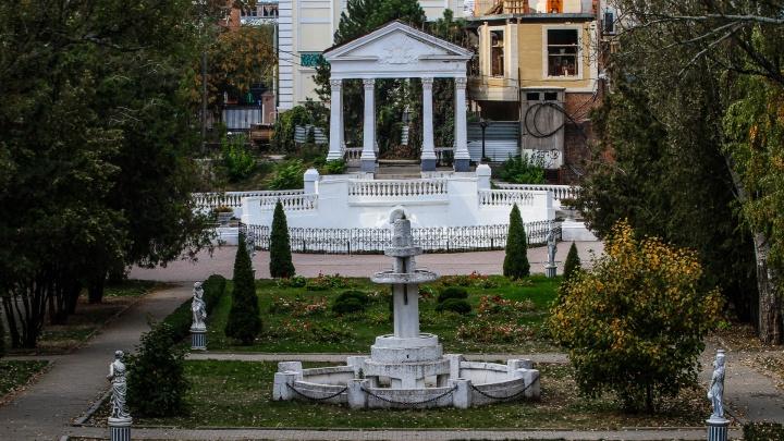 «Приведите все в порядок»: ростовчанка потребовала включить фонтаны в парке Горького
