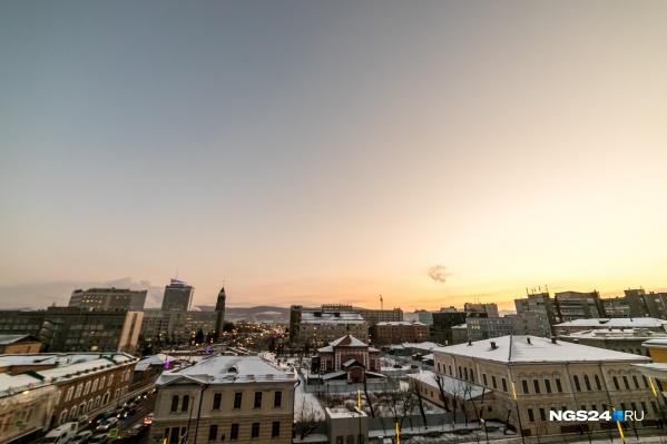 Морозы уходят из Красноярска