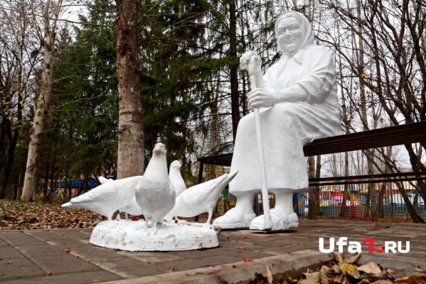 Новые скульптуры радуют посетителей парка