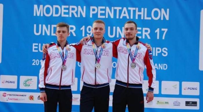 Башкирский спортсмен взял серебро на первенстве Европы по современному пятиборью