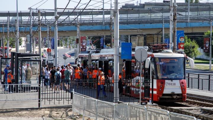 Схема движения автобусов, троллейбусов, трамваев и шаттлов Волгограда на сегодня