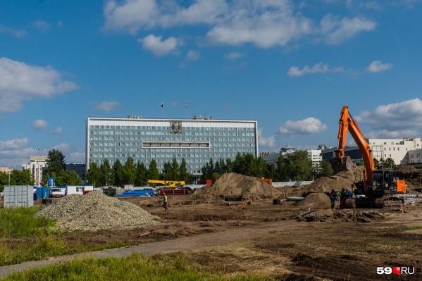 Реконструкция эспланады должна закончиться до Дня города