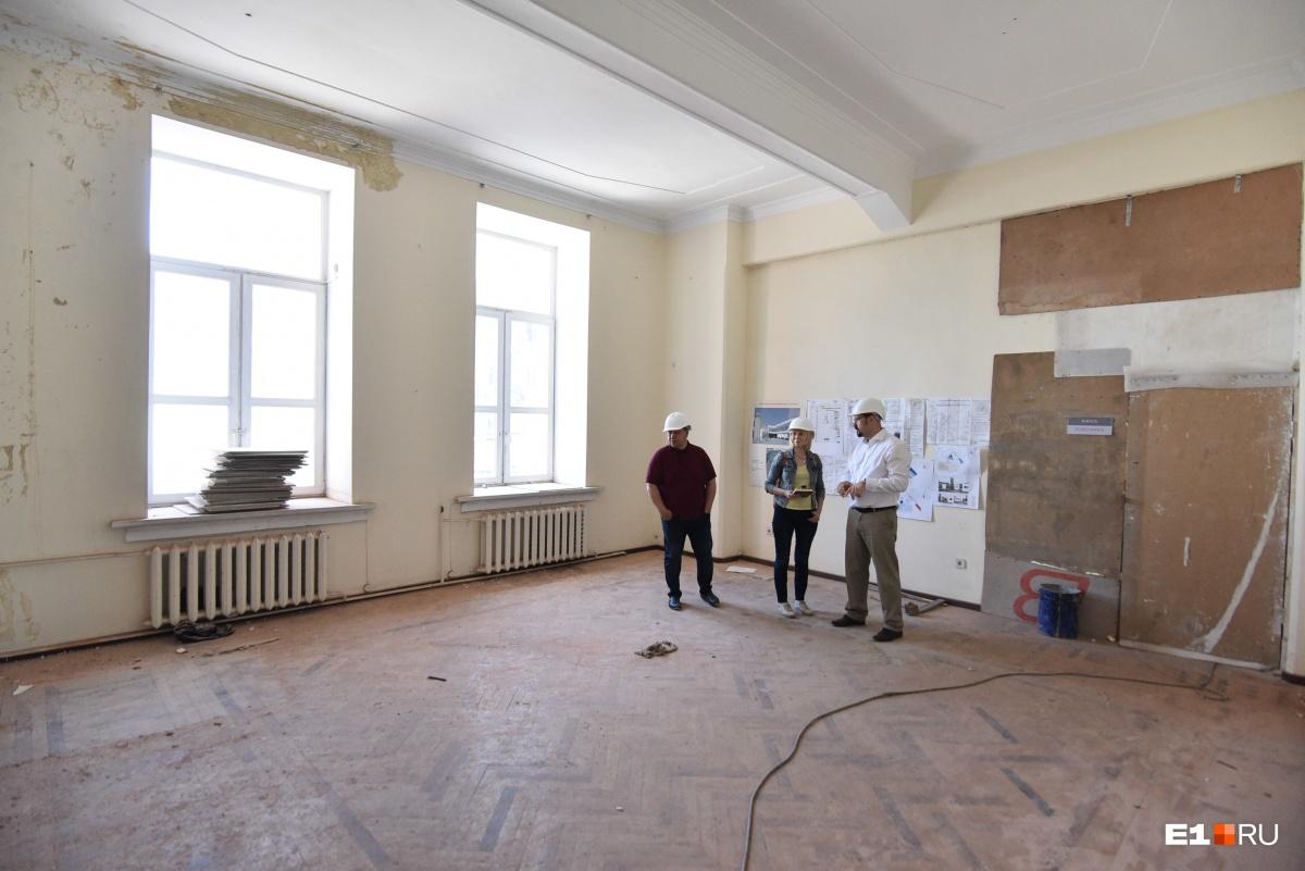 На втором этаже будет находиться постоянная экспозиция