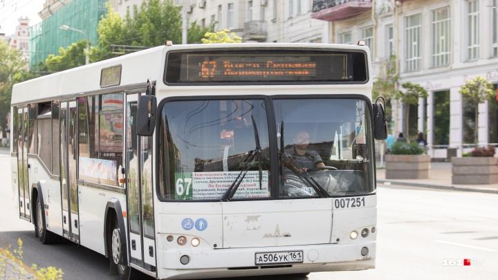 В День города в Ростове пустят дополнительные автобусы