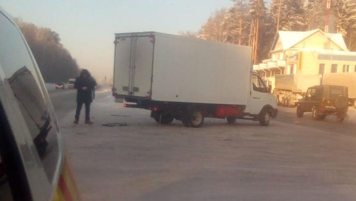 На дублере Сибирского тракта убрали опасный разворот, из-за которого водители попадали в аварии