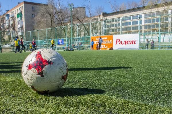 Школьная футбольная лига дает начинающим спортсменам бесценный опыт и возможность стать немного ближе к своей мечте