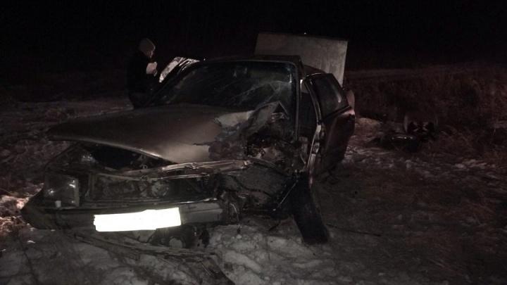 В Кетовском районе погиб водитель автомобиля