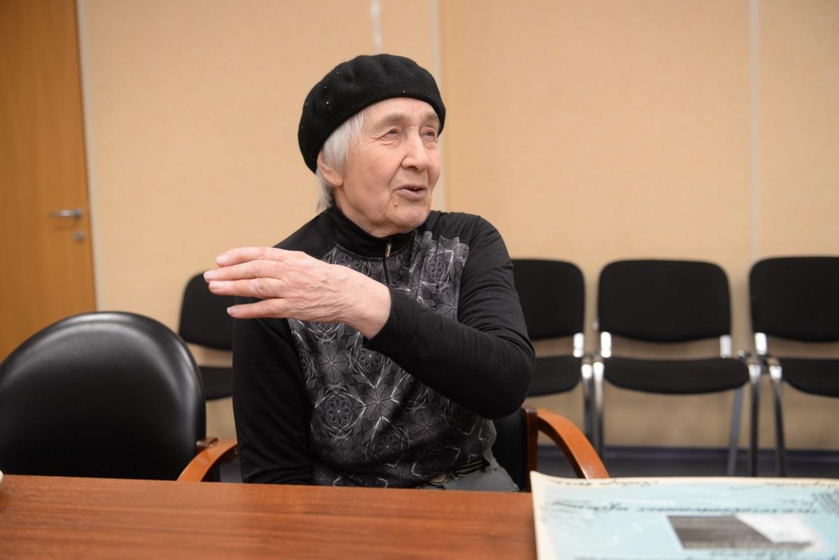 Людмила Михайловна проработала на заводе 46 лет