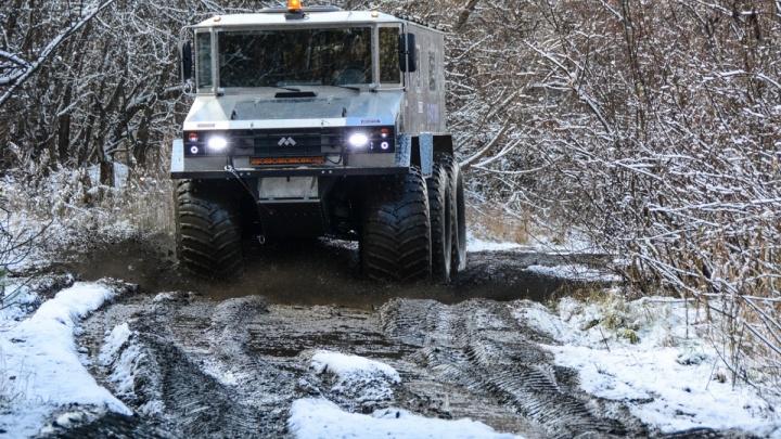 Уральцы, выпускающие вездеходы «Бурлак», заявили, что «дочка» КамАЗа украла у них название