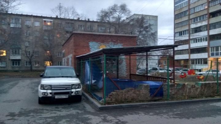 Порывистый ветер повалил несколько деревьев и забор в Новосибирске