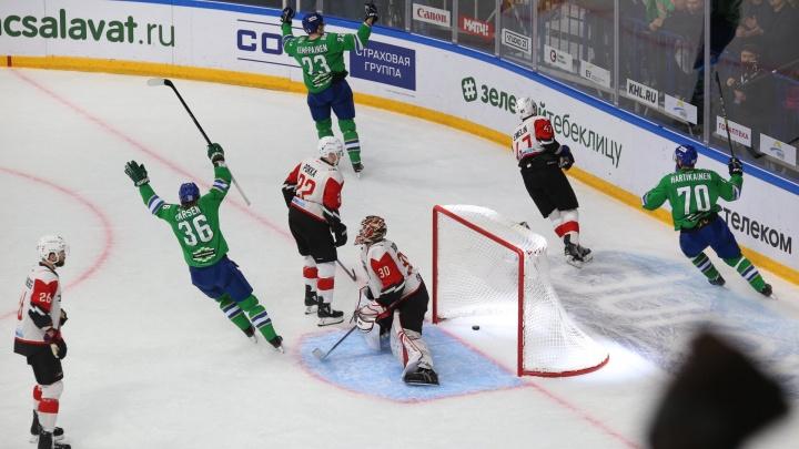 Все или ничего — время сравнять счет: «Салават Юлаев» сыграет второй матч против «Авангарда»