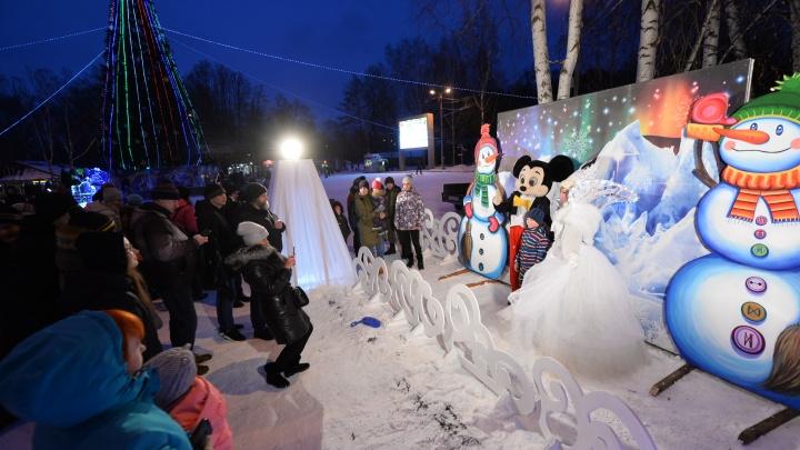 В парке Маяковского устроили парад плюшевых чудовищ