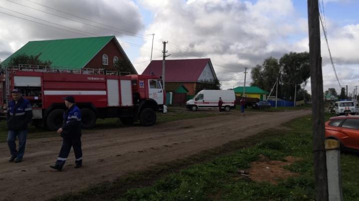 Остался внутри горящего дома: в Башкирии погиб мужчина