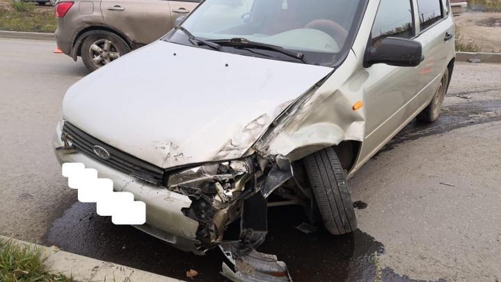 В Каменске-Уральском женщина устроила ДТП, пострадали двое её детей