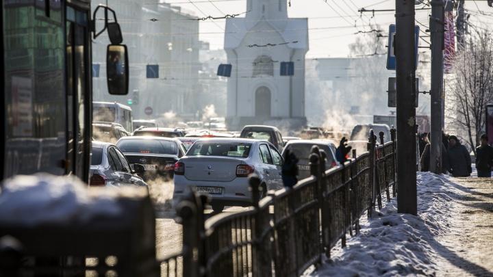 «Гололедица не просто сильная, а очень сильная»: выходные в Новосибирске пройдут без осадков