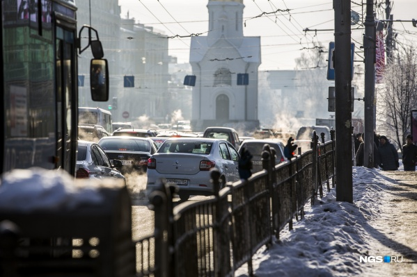 Погода в Новосибирске в ближайшие выходные будет стабильной и умеренно-морозной