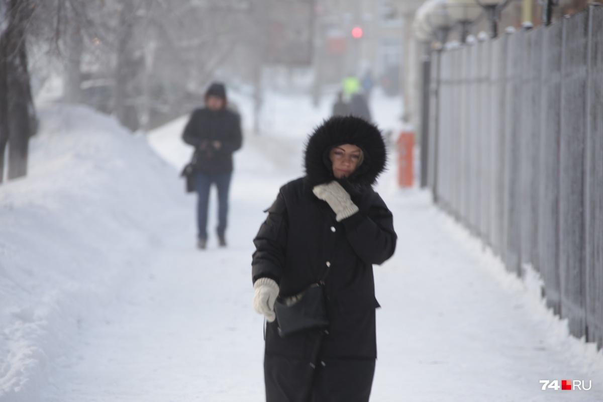 Морозы задержатся в Челябинске на несколько дней