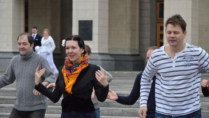 Новосибирские танцоры отметили Всемирный день линди хопа