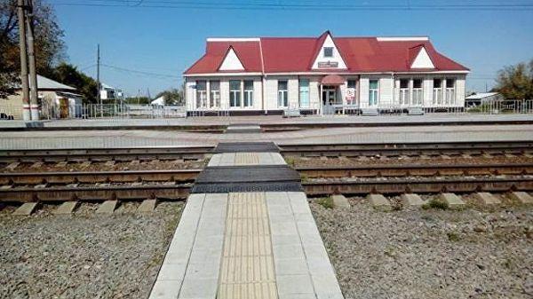 Так выглядит существующий переход на станции Тамерлан в Варненском районе